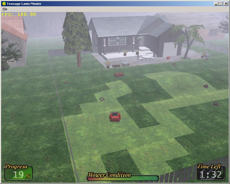 Teenage Lawnmower